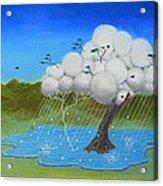 Tree Storm Acrylic Print