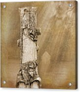 Tree Stump 2 The Forgotten Series 15 Acrylic Print