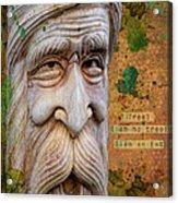 Treebeard Acrylic Print