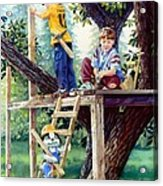 Treehouse Magic Acrylic Print
