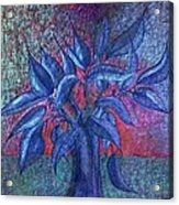 Trees Flower  Acrylic Print