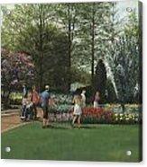 St. Louis Botanical Garden Trees Acrylic Print