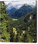 Trentino - Val Duron Acrylic Print