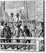 Trenton: Prisoners, 1776 Acrylic Print