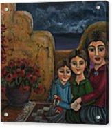 Tres Mujeres Three Women Acrylic Print
