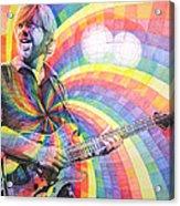 Trey Anastasio Rainbow Acrylic Print by Joshua Morton