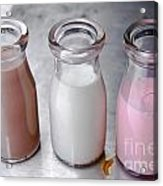 Tri Color Milk Acrylic Print