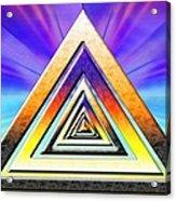 Triangle Pathway Acrylic Print