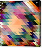 Triangles And Parallelograms Acrylic Print