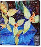 Triangular Blossom Acrylic Print