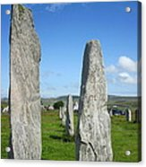 Triangular Callanish Stone Acrylic Print
