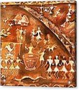 Tribal Art Acrylic Print
