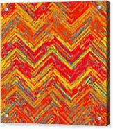 Tribal Pattern 019 Acrylic Print