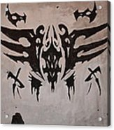 Tribal Skull Acrylic Print
