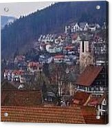 Triberg Germany Acrylic Print