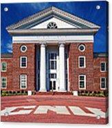 Trible Library Christopher Newport University Acrylic Print