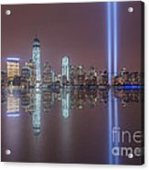 Tribute In Light Reflections Acrylic Print
