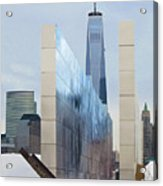 Tribute To Sept 11 Acrylic Print