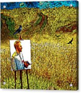 Tribute To Vincent Van Gogh - His Final Days Acrylic Print