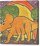 Triceratops Acrylic Print