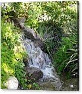 Trickle Down Fountain. Acrylic Print