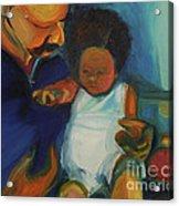 Trina Baby Acrylic Print