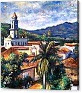 Trinadad Cuba Acrylic Print