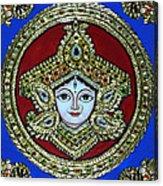 trinetra Durgaji Acrylic Print