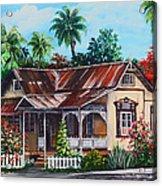 Trinidad House  No 1 Acrylic Print