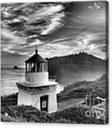 Trinidad Light In Black And White Acrylic Print by Adam Jewell
