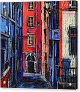 Trinite Square Lyon Acrylic Print
