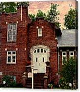 Trinity Lutheran Springfield Missouri Acrylic Print