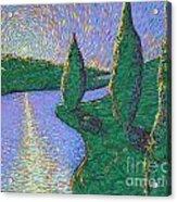 Trinity River Acrylic Print