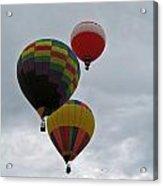 Trio Of Balloons 2 Acrylic Print