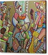 Trio To The Throne Acrylic Print by Anatoliy Sivkov