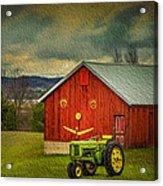 Trip To The Happy Farm Acrylic Print