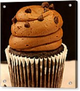 Triple Chocolate Cupcake Acrylic Print