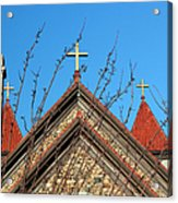 Triple Cross 4 Acrylic Print