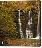 Triple Falls Acrylic Print