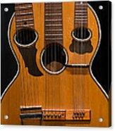 Triple-neck Instrument Acrylic Print