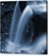Triple Plunge Twilight Waterfall Acrylic Print