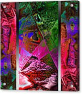 Triptych Chic Acrylic Print