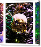 Triptych - Christmas Decoration - Featured 3 Acrylic Print