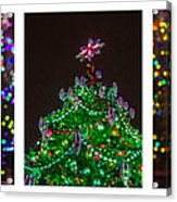 Triptych - Christmas Trees - Featured 3 Acrylic Print