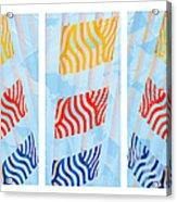 Triptych Sunrise 1 Acrylic Print