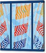 Triptych Sunrise 2 Acrylic Print