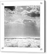 Triptychon Dramatic Sea 3 Acrylic Print