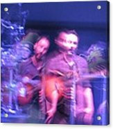 tripy photo of Dave Matthews Acrylic Print