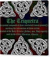 Triquetra Acrylic Print