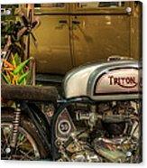 Triton Motorbike Acrylic Print